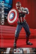 Hot Toys TMS040 The Falcon and the Winter Soldier Captain America 1/6 Scale Collectable Figure